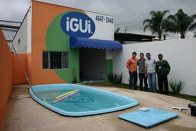 piscina de fibra igui preco