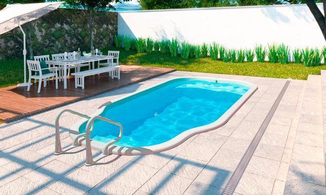 Quanto custa uma piscina de fibra?